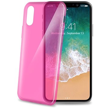 CELLY Ultrathin pro iPhone X růžový (THIN900PK)