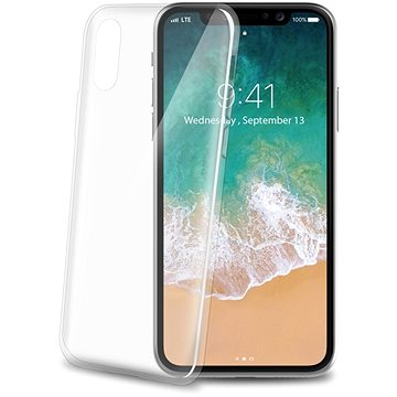 CELLY Ultrathin pro iPhone X bílý (THIN900WH)