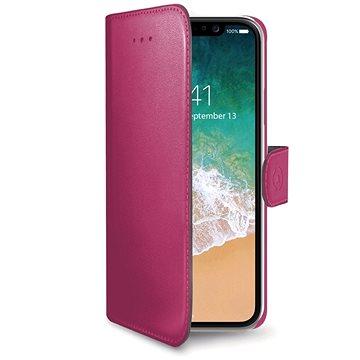 CELLY Wally pro iPhone X růžové (WALLY900PK)