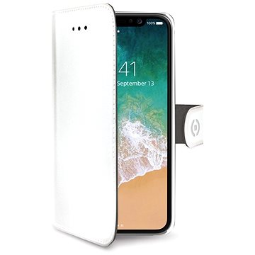 CELLY Wally pro iPhone X bílé (WALLY900WH)