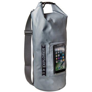 "CELLY Explorer 10L s kapsou na telefon do 6.2"" šedé (EXPLORER10LGR)"
