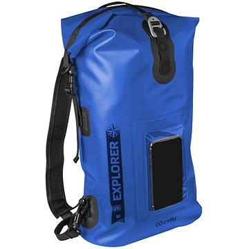 """CELLY Explorer 20L s kapsou na mobilní telefon do 6.5"""" modrý (EXPLORERBP20LBL)"""