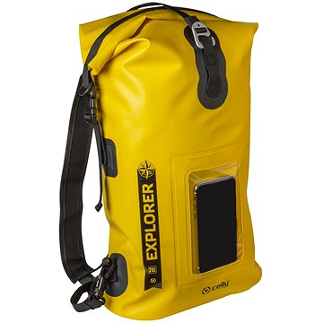 "CELLY Explorer 20L s kapsou na mobilní telefon do 6.5"" žlutý (EXPLORERBP20LYL)"