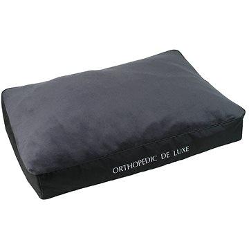 Olala Pets Ortopedická matrace De Luxe 100 x 70 cm, šedá (8592644137454)
