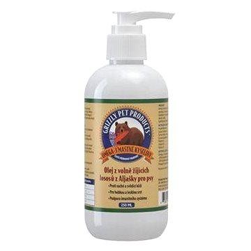 Lososový olej pes/kočka Grizzly Wild Salmon 125 ml (835953008410)