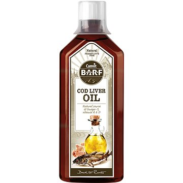 Canvit BARF Cod Liver Oil 0,5 l (8595602530694)