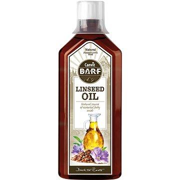 Canvit BARF Linseed Oil 0,5 l (8595602530649)