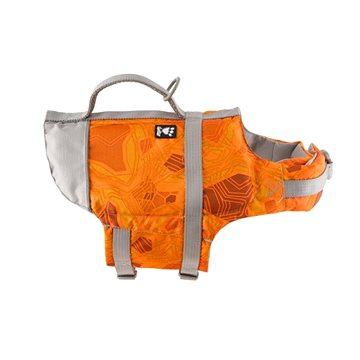 Vesta plavací Hurtta Life Savior 5-10 kg oranžová camo (6410329331244)