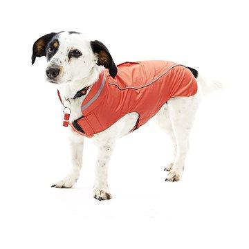 Obleček Raincoat Jahodová 53cm XL KRUUSE (5703188275318)