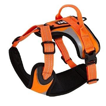 Postroj Hurtta Dazzle 100-120cm oranžový reflexní (6410329324673)