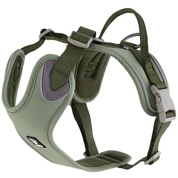 Postroj Hurtta Weekend Warrior ECO zelený 80-100cm (6410329334320)