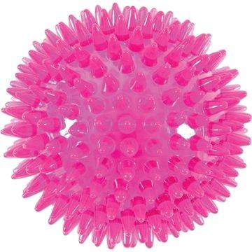 BALL SPIKE TPR POP 13 cm s ostny růžová Zolux (3336024790717)