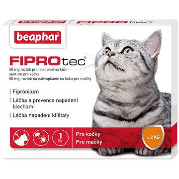 BEAPHAR Spot on Fiprotec pro kočky od 2kg (8711231176038)