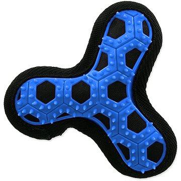 DOG FANTASY hračka hextex vrtule modrá 13 cm (8595091794690)