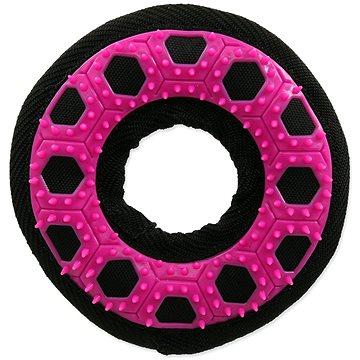 DOG FANTASY hračka hextex kruh růžová 13 cm (8595091794744)