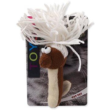 MAGIC CAT hračka červík bavlněná plyš mix 13,75 cm (8595091786299)