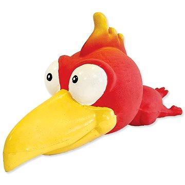 DOG FANTASY hračka latex ptáci se zvukem mix 18 cm (8595091782024)