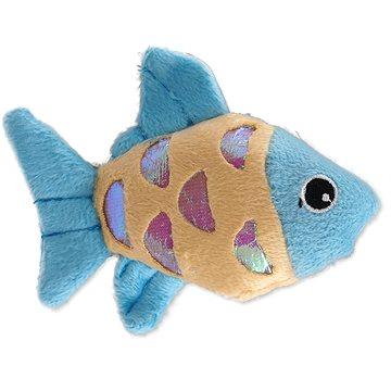 MAGIC CAT hračka rybka plyš s catnip mix 10 cm (8595091794553)