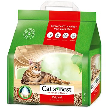 JRS kočkolit cats best original 10 l / 4,3 kg (4002973000168)