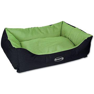 SCRUFFS expedition box bed L 75 × 60 cm limetkový (5060143677465)