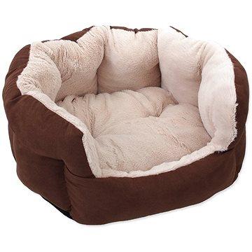 DOG FANTASY pelíšek Comfy1 46 × 40 × 20 cm čokoládový (8595091798544)