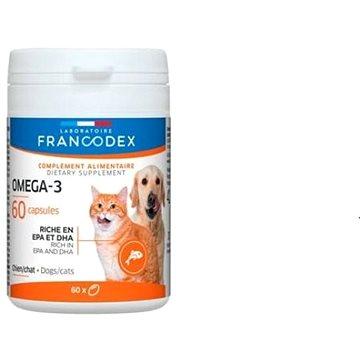 Francodex Omega 3 Capsules pes, kočka 60 tab. (3283021703878)