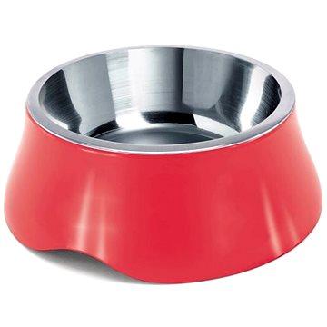 IMAC Miska pro psa nerez + plast - 490 ml - mix barev - průměr 20,4 cm (8021799414603)