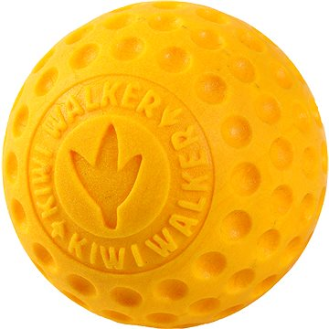 Kiwi Walker Plovací míček z TPR pěny, oranžová, 9 cm (8596080002222)