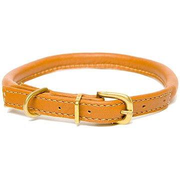 Dogs & Horses Rolled Leather Brown M (0617215957328)