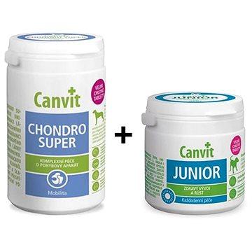Canvit Chondro Super 230 g + Canvit Junior 100 g zdarma (8595602547128)