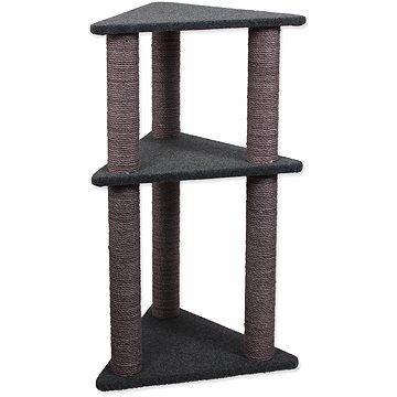 Magic Cat Odpočívadlo MC Elena 56×50×113cm koberec šedé (8595091799329)