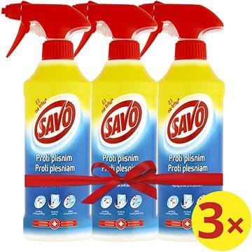 SAVO Proti plísním 3 × 500 ml
