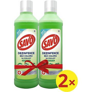 SAVO Bez Chloru Eukalyptus 2× 1 l