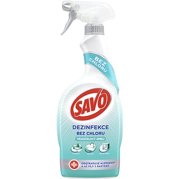 Čisticí prostředek SAVO Bez Chloru Víceúčelový 750 ml (8710908264726)