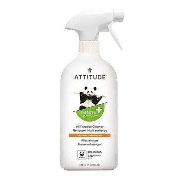 ATTITUDE Všeúčelový čistič s vůní citronové kúry s rozprašovačem 800 ml (626232501803)
