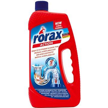 Čisticí prostředek RORAX Gelový čistič odpadů 2v1 1 l (4009175136022)