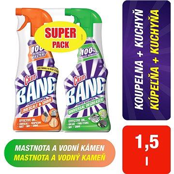Čisticí prostředek CILLIT Bang Spray 750 ml + Odmašťovač 750 ml (5997321761985)