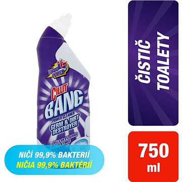CILLIT Bang WC Odstraňovač bakterií a špíny 750 ml (5997321746401)
