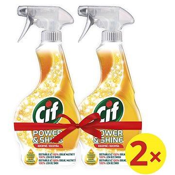 CIF Power & Shine Kuchyň 2 × 500 ml