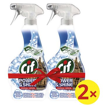 CIF Power & Shine Koupelna 2 × 500 ml