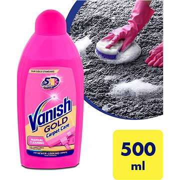 Šampon na koberce VANISH Šampón na koberce Ruční 500 ml (8594002688608)