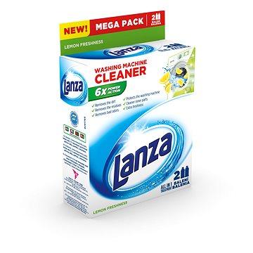 Čisticí prostředek LANZA Tekutý čistič pračky citron 2x 250 ml (5601217129413)