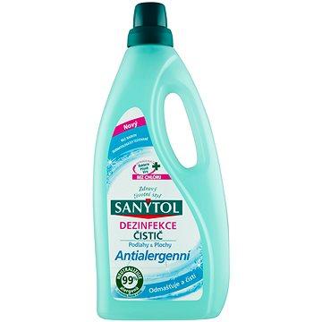 SANYTOL Dezinfekce čistič podlahy & plochy antialergenní 1 l (3045206312387)