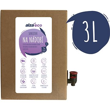 AlzaEco Sensitive na nádobí 3 l (8594018045389)