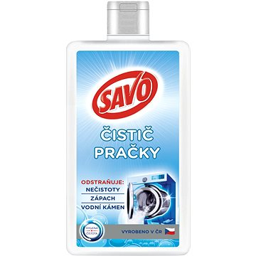 SAVO čistič pračky 250 ml (8710522828243)