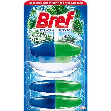 WC blok BREF DuoActive Pine závěs 50 ml + 2x náhr.náplň (9000100991889)