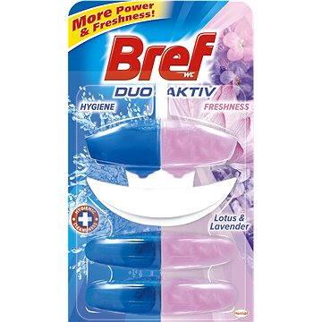 WC blok BREF DuoActive Lotus & Levander závěs 50 ml + 2x náhr.náplň (9000100991995)