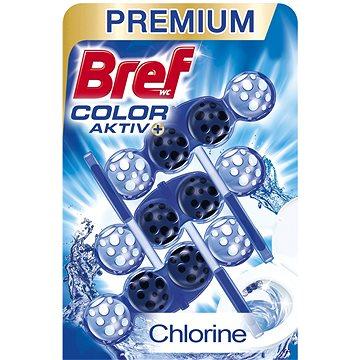 WC blok BREF Blue Aktiv Chlorin 3 x 50 g (9000101018226)