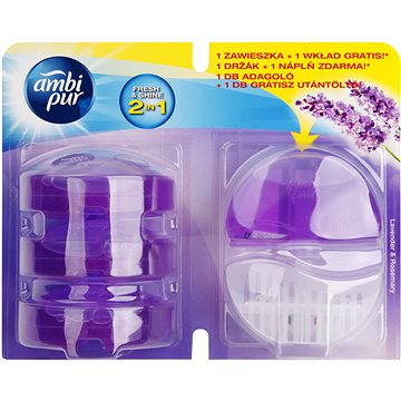 WC blok AMBI PUR Lavender & Rosemary 3 x 55 ml (5410076460670)