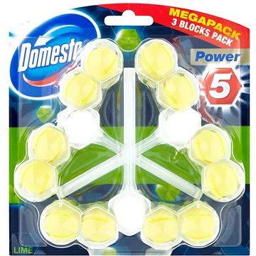 WC blok DOMESTOS Power 5 Lime 3x55g (8710908736698)